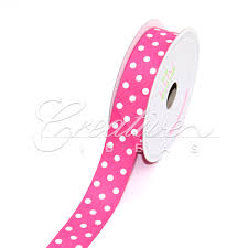 pink polka dot ribbon ribbons circles dots ribbons creative ideas wholesale