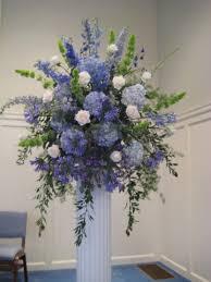 wedding flowers ireland hydrangea delphinium bells of ireland agapanthus blue reception