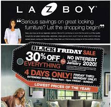 furniture sales for black friday la z boy black friday 2017 ad scan sales u0026 deals