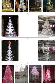 spiral light christmas tree christmas lights decoration