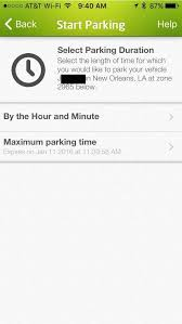 review parkmobile pay for parking on your iphone