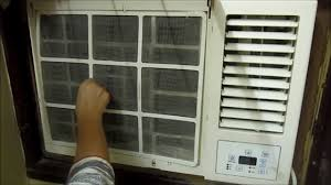 how to clean window ac filter in hindi window ac filter cleaning
