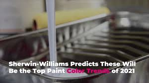 what type of sherwin williams paint is best for kitchen cabinets sherwin williams predicts these will be the top paint color trends of 2021