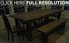 barn wood kitchen table set home table decoration