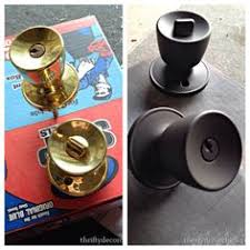How To Spray Paint Doors - how to paint door knobs we have alot of brass in our house that i