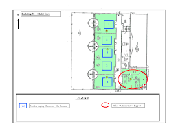 Day Care Center Floor Plan Wireless Locations