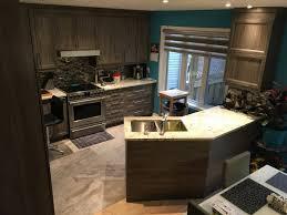 cuisine neuve cuisine neuve et buffet sur mesure défi design rénovation
