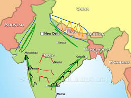 Ancient India Map Ancient India Geography History Showme
