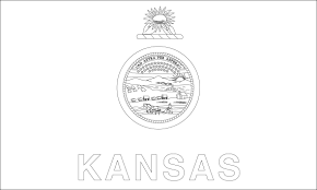 kansas state seal coloring page coloring home