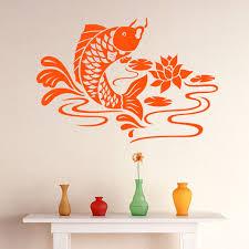 koi carp fish animal wall sticker world of wall stickers