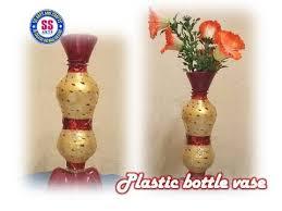Best Out Of Waste Flower Vase Search Result Youtube Video Plastik Bottle Flower Vases Making