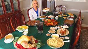 betty s thanksgiving dinner table 2014