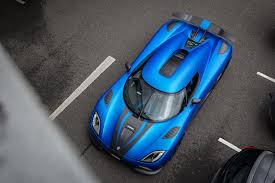 koenigsegg car blue wallpaper blue cars aerial view super car sports car