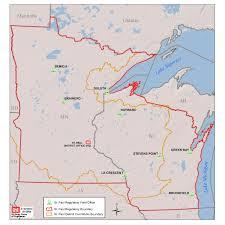 Mn Counties Map St Paul District U003e Missions U003e Regulatory U003e District Boundaries