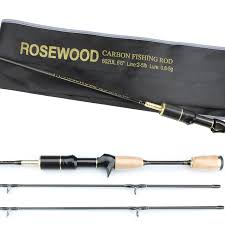 light action spinning rod rosewood double tips fishing rod 1 8m ultralight spinning rods high