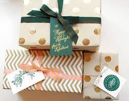 gift wrap christmas stylish gift wrap ideas