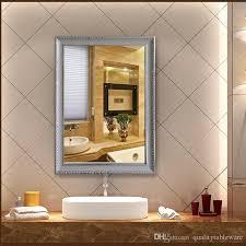 modern hotel bathroom modern hotel bathroom mirror frame makeup mirror wooden borders
