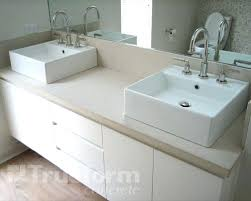 square vessel bathroom sinks concrete with square vessel sinks for