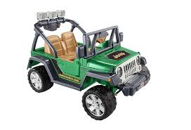jeep power wheels for girls amazon com fisher price power wheels deluxe jeep wrangler toys