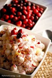 cranberry salad recipe with marshmallows and