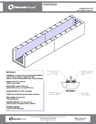Max Stair Riser by 5 U0027x20 U0027 Rail Car Inspection Pit Oldcastle Precast