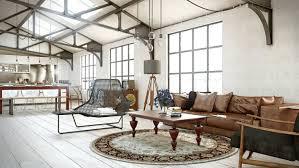 deco canape marron déco salon blanc pour un intérieur lumineux et moderne