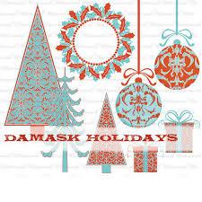 Christmas Clip Art Christmas Digital Scrapbooking Modern Clipart