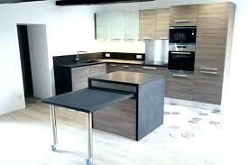 en cuisine avec table cuisine pivotante table cuisine pivotante meuble de cuisine