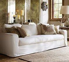Pottery Barn Slipcovered Sofa by Pottery Barn Catalina Slipcovered Sofa With Bench Cushion Down