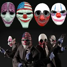deluxe game payday 2 mask the robbers dallas wolf chains hoxton