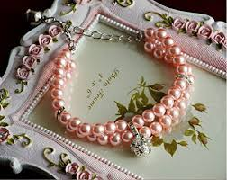 pink collar necklace images Petfavorites luxury 2 row pearls rhinestones pet cat dog necklace jpg