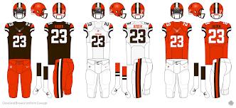 Cleveland Browns Flag Cleveland Browns Logo Uniform Concept Concepts Chris Creamer U0027s