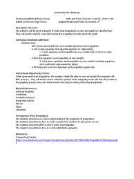 Solve And Graph The Inequalities Worksheet Showcase Lesson Plan Communication Pedagogy