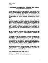 Example Of Creative Resume by Example Of Creative Writing Essay Uxhandy Com