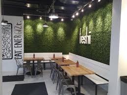 Desk Design Castelar Freshii Restaurant Interiors Freshii Pinterest Interiors