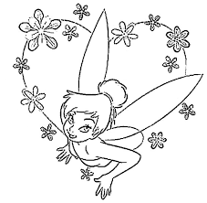 Disney Princess Halloween Coloring Pages by Tinkerbell Halloween Coloring Pages Kids Coloring