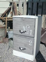 Chalk Paint On Metal Filing Cabinet Painted Metal Cabinets Unispa Club