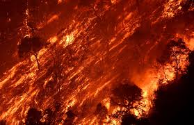 Wildfire Dc by See The Hellscape Created By The Raging Sand Fire