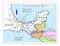 Oaxaca Mexico Map A Summary Of Several Theories Of Book Of Mormon Lands In