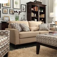 Light Brown Sofa by Oxford Creek Contemporary Ridgewood Tan Linen Sofa Home