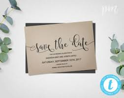 rustic save the date template save the date card rustic