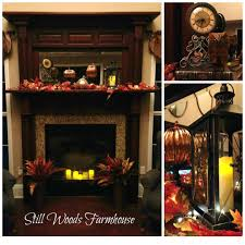 britt candle fireplace idolza dining room large size still woods farmhouse autumn splendor for the hearth its too warm