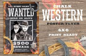 template flyer country free 19 western wanted poster templates free printable sle country