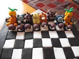 pokemon chess set cake album on imgur