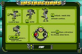 image omnitrix unleashed game instructions png ben 10 wiki