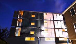 Shipping Container Homes by D C U0027s Shipping Container Apartment Project Completed Photos Wtop