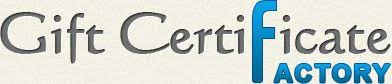 golf gift certificate templates gift certificate factory