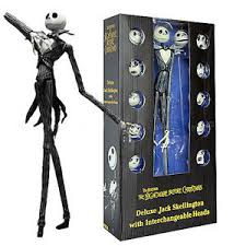 14 nightmare before deluxe skellington neca