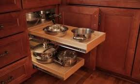 blind corner kitchen cabinet inserts blind corner cabinet solutions shelfgenie