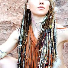 hippie hair wraps thunder tribal hair wraps from femmeferalle on etsy